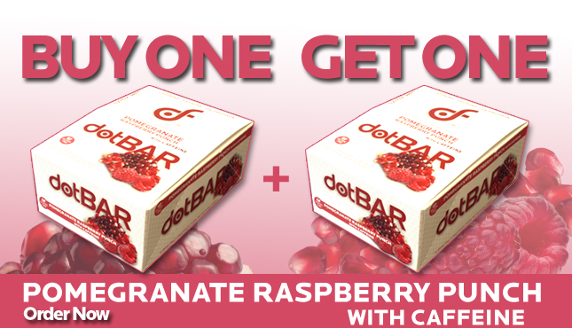 Buy One Get One - Pomegrante Raspberry Crunch Box