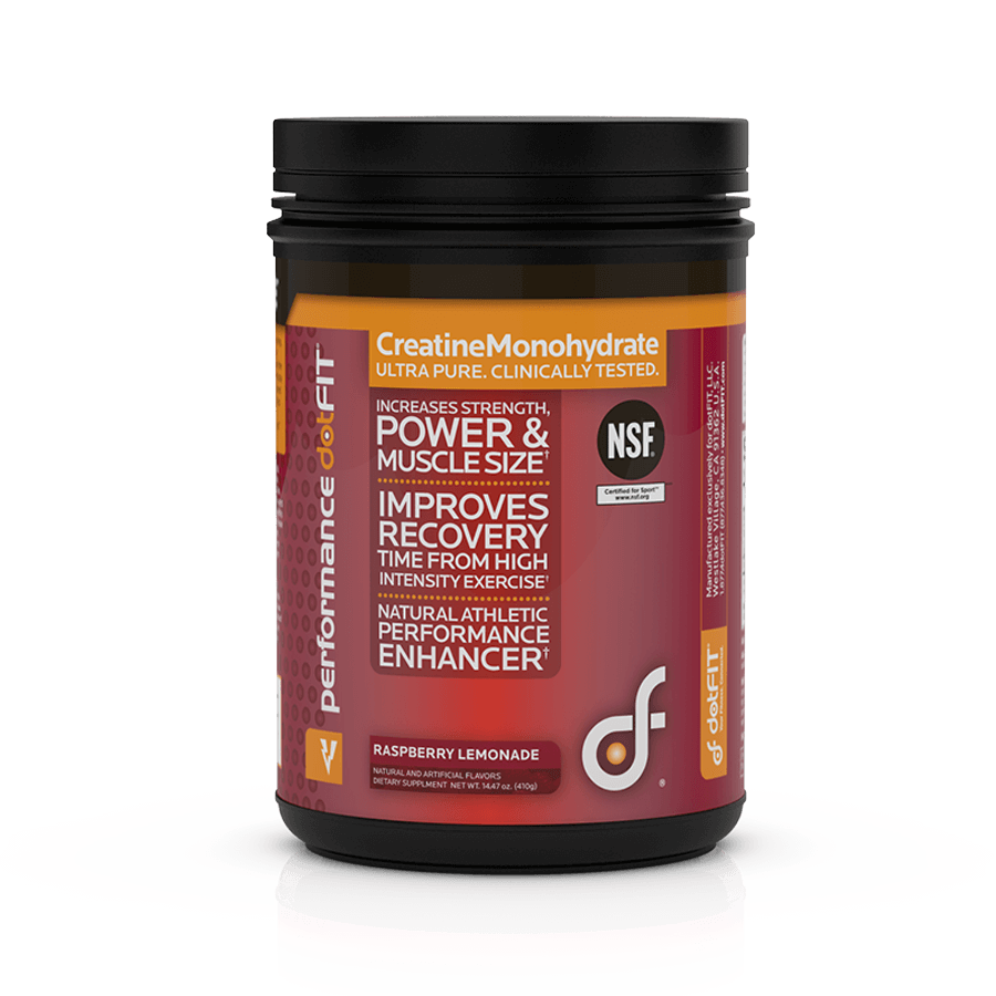 Creatine Monohydrate - Raspberry Lemonade Drink Mix